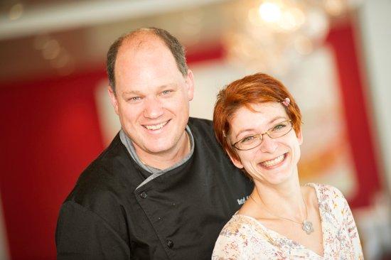 Graechen, Switzerland: Gastgeberpaar Martin Brigger & Mélanie Williner