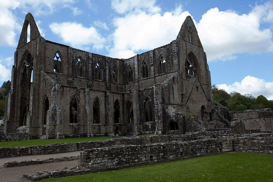 Chepstow, UK: One view of the abbey