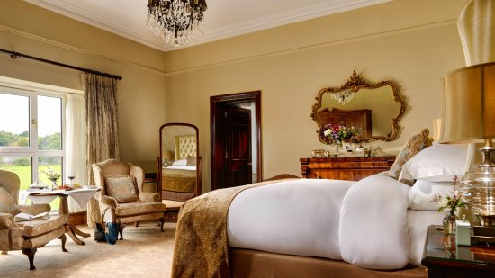 Bushypark, İrlanda: Junior Suite with views overlooking the 18th Century Abbey and Walled Garden