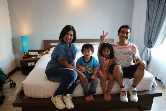 Royal Singosari Kuta: 22 April 2017 Foto kami di kamar 315, kamar yang nyaman :)