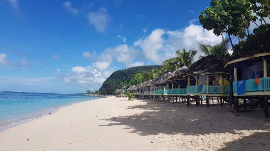 Taufua Beach Fales: Beach Fales
