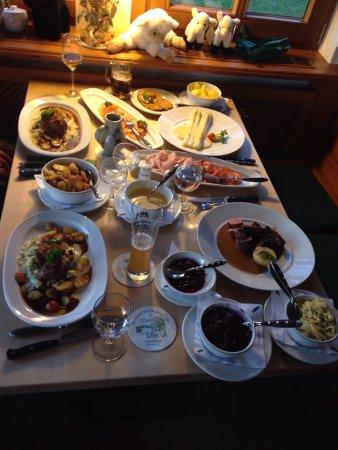 Schäferhof Jagdhaus: Heerlijk eten