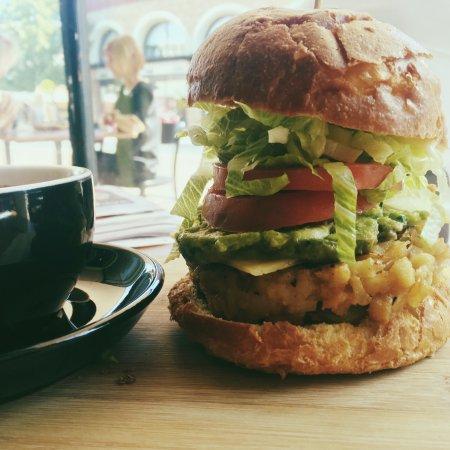 Subiaco, Αυστραλία: Breakfast burger
