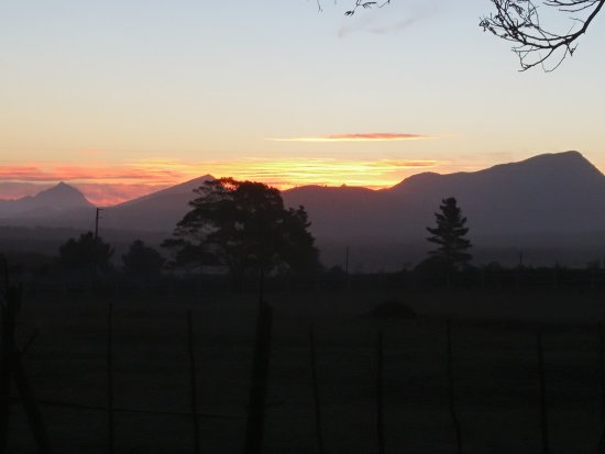 Outeniqua Moon Percheron Stud and Guest Farm: Amazing sunsets.