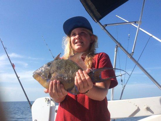Hopkins, Belize: Happy catch