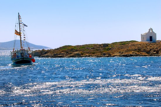 Antiparos Town, Greece: From Captain Ben's Island Tour