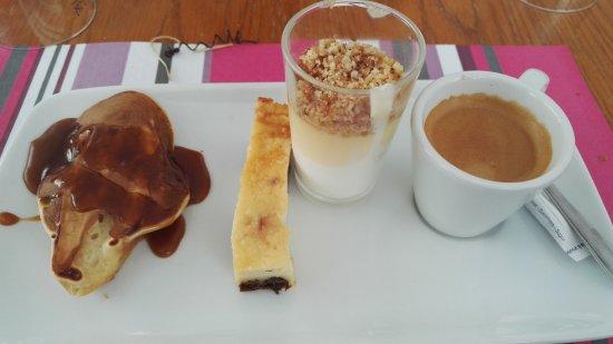เมอลัน, ฝรั่งเศส: café gourmand