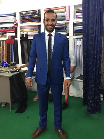 Nice blue suit - Picture of The Best Tailor - Ladies and Gents ...