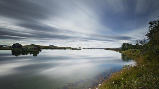Миватн, Исландия: Excelente fotos si se cuenta con un ND filter.