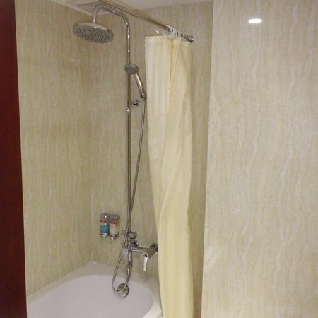 paradise boutique hotel shower in bath with shampoo u0026 soap dispensers