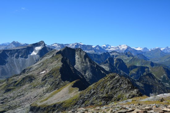 Mallnitz, Austria: Great view to Hohen Tauern