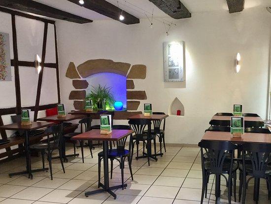 Turckheim, فرنسا: Salon de thé 