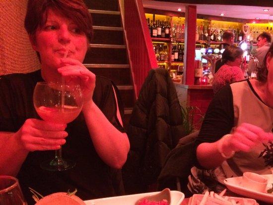 St Agnes, UK: Nice Gin