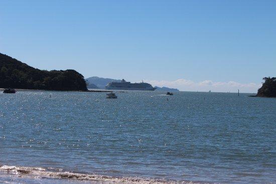 Paihia, Νέα Ζηλανδία: Across the bay