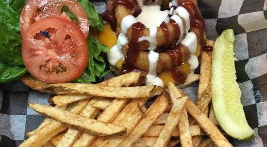 Stevens, Pensilvania: Rodeo Burger is one of the most popular items on the menu!