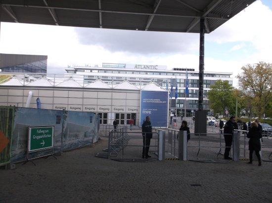 Grugapark Essen: An der Gruga - Baustelle.