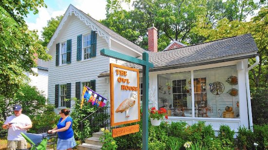 The Owl House, 303 Butler Street. Saugatuck, MI
