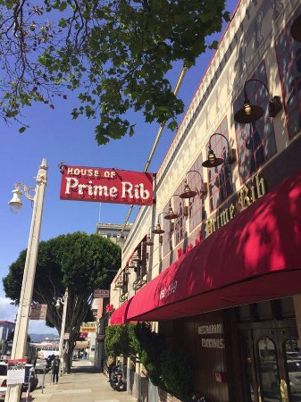 House Of Prime Rib Restaurant San Francisco Ca