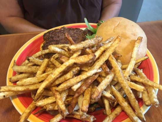 Bloomington, IN: Burger and fresh cut fries!
