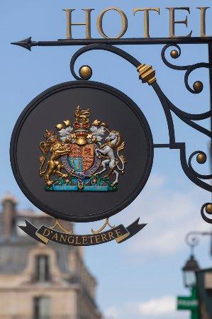 Hotel d'Angleterre, Saint Germain des Pres: Entrée