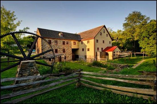 Wilmington, DE: Historic 18th century mill located on the Red Clay Creek.