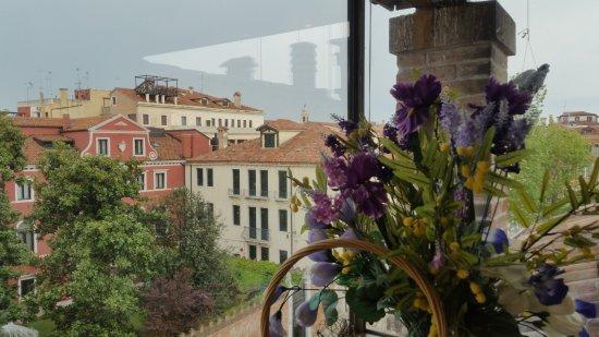 Hotel ai due Fanali: vue de la terrasse petit-déjeuner