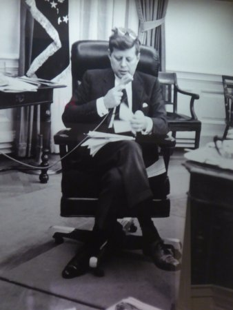 jfk in oval office. Contemporary Jfk John F Kennedy Presidential Museum U0026 Library Photograph Of JFK In Oval  Office Inside Jfk In