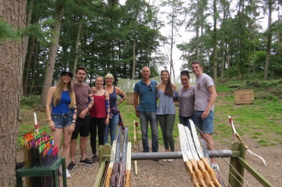 Archery in Dorset - family friendly activities