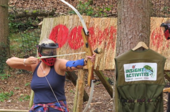 Archery Combat Tag in Dorset
