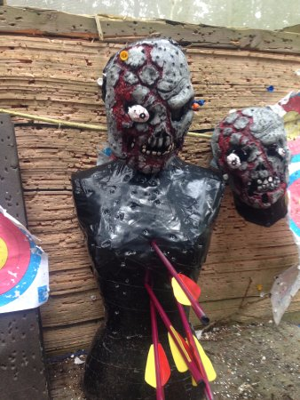 Dorset, UK: Zombie shooting with Rifle Crossbows