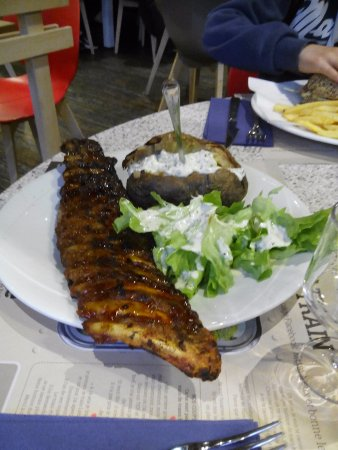 Restaurants Crocodile Les Ribs Et Sa Pommes De Terre