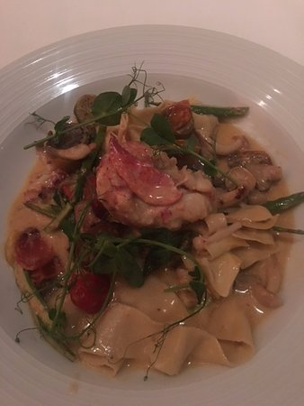 The Maritana Grille at The Don CeSar: Lobster Pasta