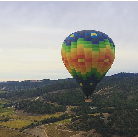 Balloons Above the Valley: amazing views