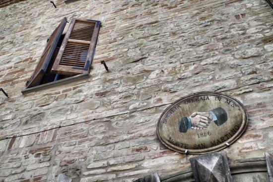 Monte san Martino, Italy: centro storico
