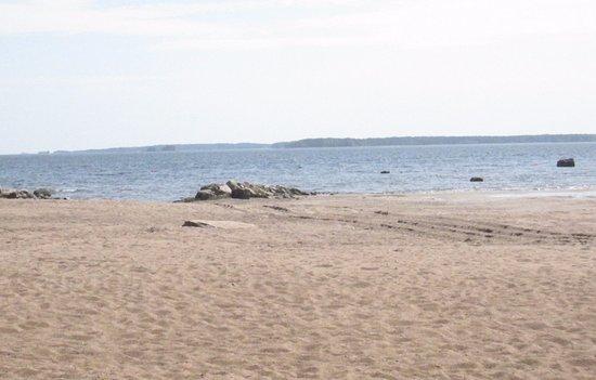 Äijänniemi Beach: Äijänniemen ranta