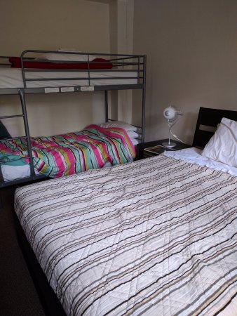 City Hostel Seattle : Nice beds! Great for a family stay...
