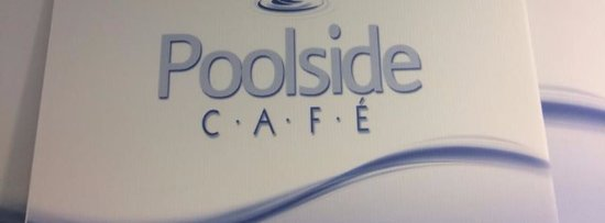 Corby, UK: poolside cafe