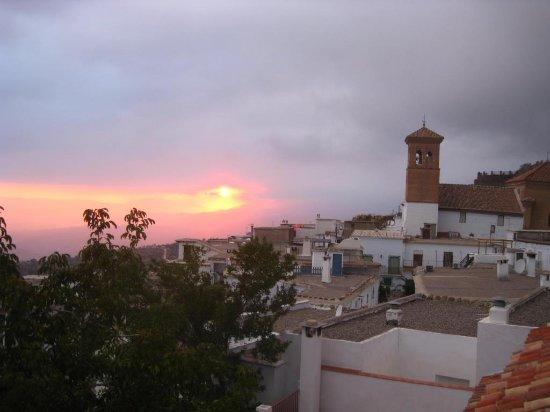 Sunset over Mairena