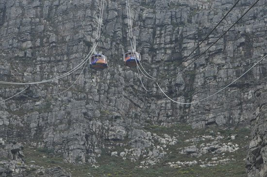 Vredehoek, Sudáfrica: Table Mountain Cable Cars
