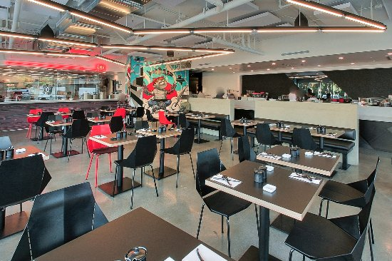 Culver City, CA: The Ramen kitchen and the Sushi bar!
