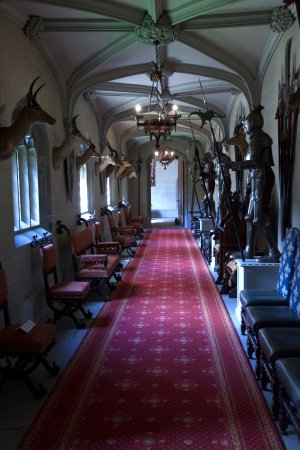 Leominster, UK: Part of the interior of the castle