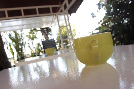 Grecia, Costa Rica: Mesas Café Del Patio Restaurante Gourmet