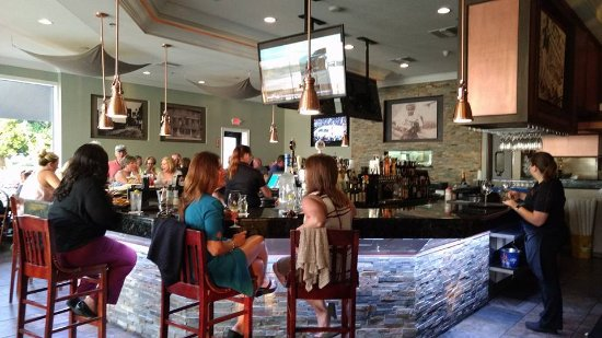 The Bar At Harborside Restaurant In Winter Haven Fl