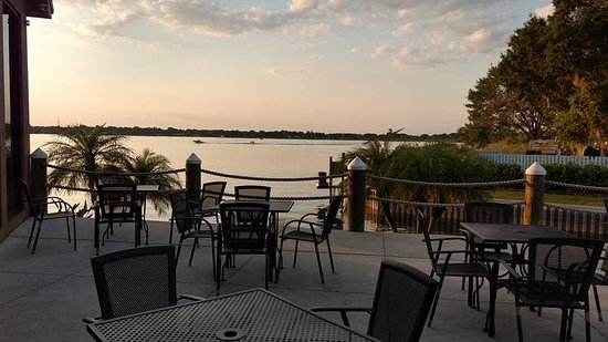 Patio At Harborside Restaurant In Winter Haven Fl