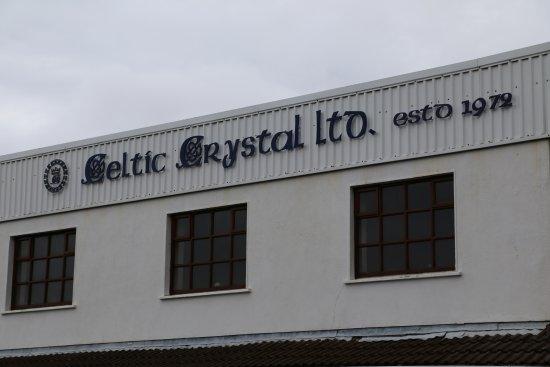 Moycullen, Ireland: L'enseigne de la cristallerie