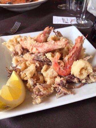 Il Bettolino: Fritto di calamari e gamberi