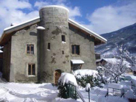 Bellentre, France : Maison d'hôtes A la Bouge'Hôtes en hiver