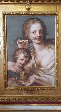 Palazzo Pitti: creepy painting