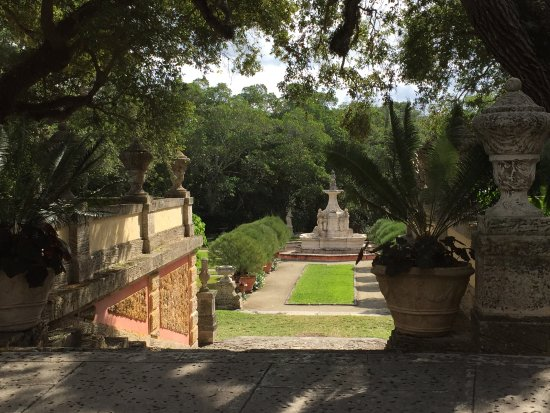 Vizcaya Museum and Gardens: one of many sections of the gardens