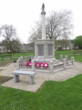 Dalbeattie, UK: War memorial